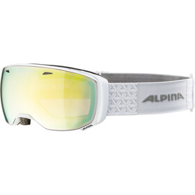 Alpina Estetica QVMM Gafas de esquí, white gold spherical